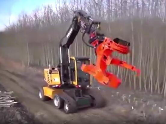 挖掘机各种强大的液压钳,肯定有一款你没见过!