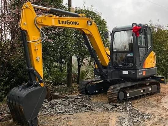 柳工CLG906E挖掘机200小时初体验,省油、好操作