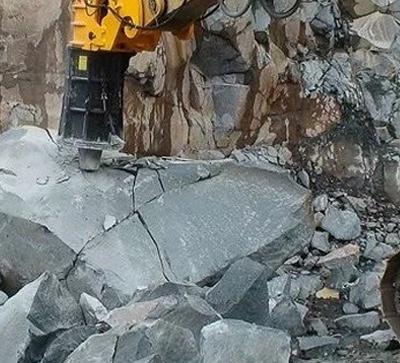 大块岩石怎么破?终于找到最佳方案了!