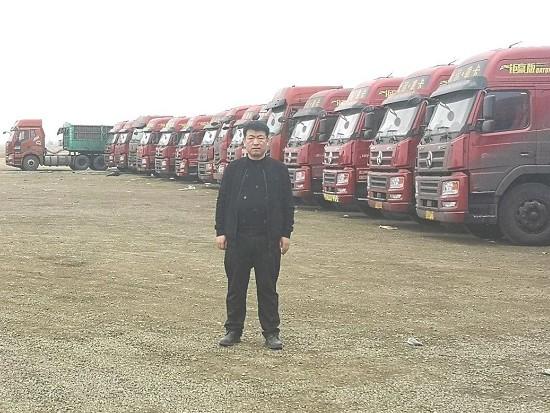170辆天然气重卡车主现身说法 大运如何征服这位物流公司老板?
