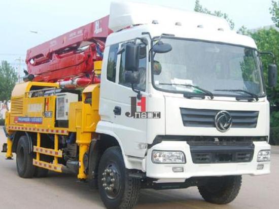 农村建设盖房为什么选择九合重工的泵车?