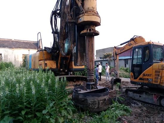 KR150A铁塔大桩径施工项目