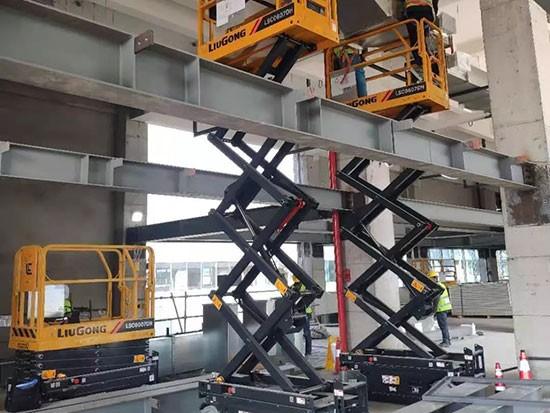 柳工高空机械助力中国新基建