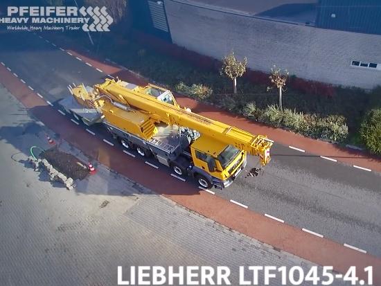 利勃海尔 Liebherr LTF1045-4.1 卡车吊起重机