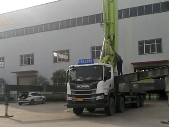信阳建国机械中联56米泵车维护保养