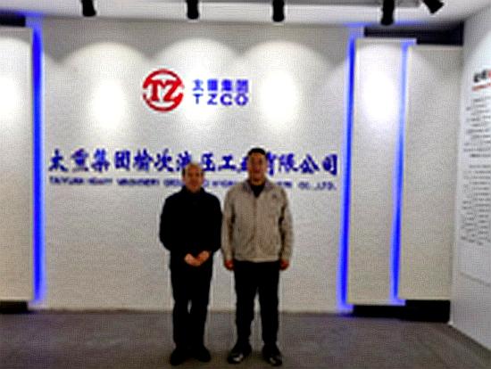 BICES 2021走进系列报道之李云生走访山西省工程机械行业有关单位
