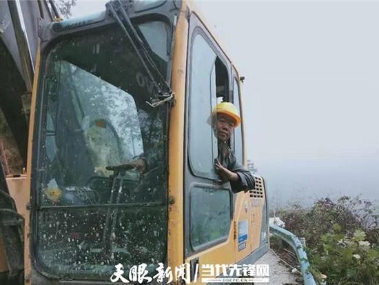 """贵州剑河南脚村:挖掘机""""挖""""出来的致富村庄"""
