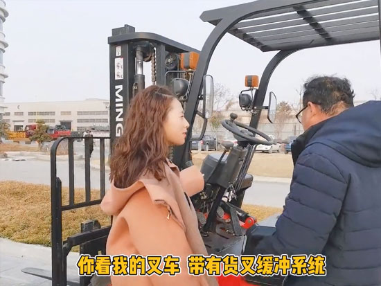 明宇叉车缓冲系统就是牛