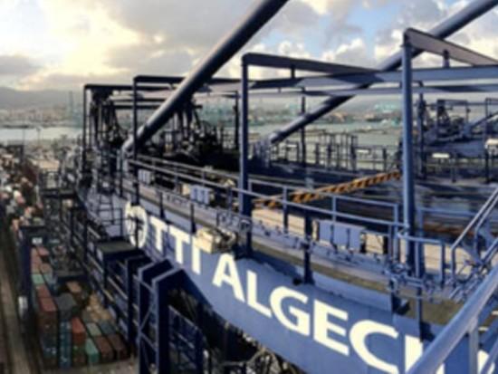振华西班牙子公司中标西班牙达飞TTIA码头五台桥吊加高加长项目
