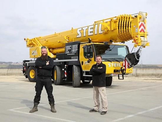 Steil公司购买了利勃海尔LTM1120-4.1移动式起重机