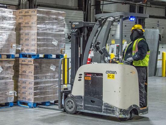 科朗助力冷库优化高位存储、运输、装载和卸载
