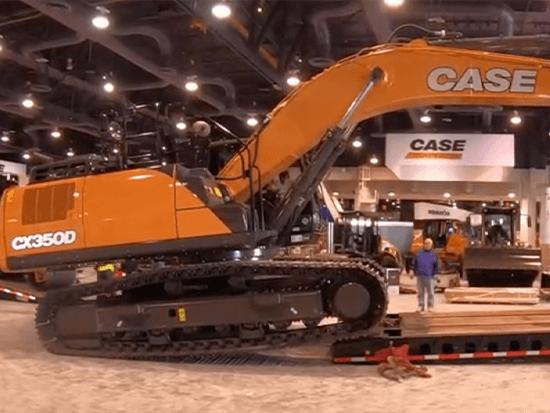 凯斯CX350D挖掘机