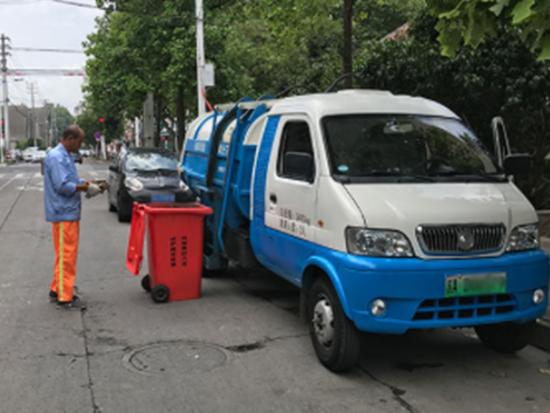 纯电动垃圾车 南京市建邺区建立宇通环卫好口碑