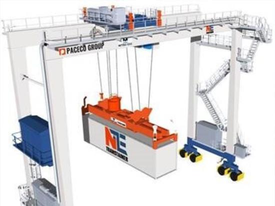 三井E&S机械公司与MOL合作开发氢燃料轮胎吊,实现零排放