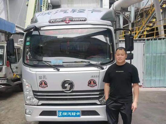 陕汽老司机与新卡车:张舵与他的致富伙伴