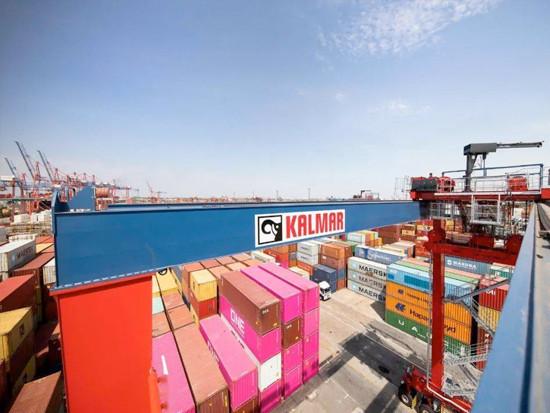 卡尔玛混合动力轮胎式龙门吊助力美国Total国际码头实现可持续增长