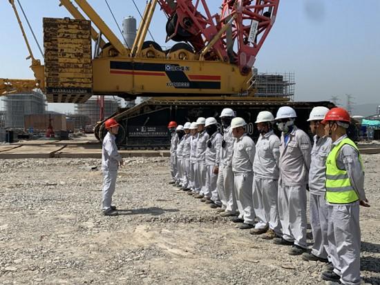 2000吨履带吊完成最后一吊,宁波台塑丙烷脱氢项目圆满收官