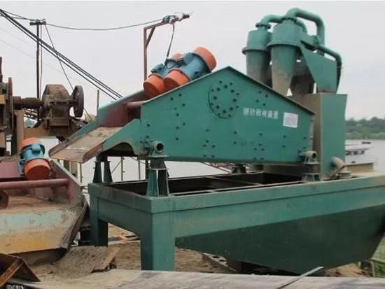 洗砂生产线流失沙严重,怎么补救?四种细砂回收的方法介绍