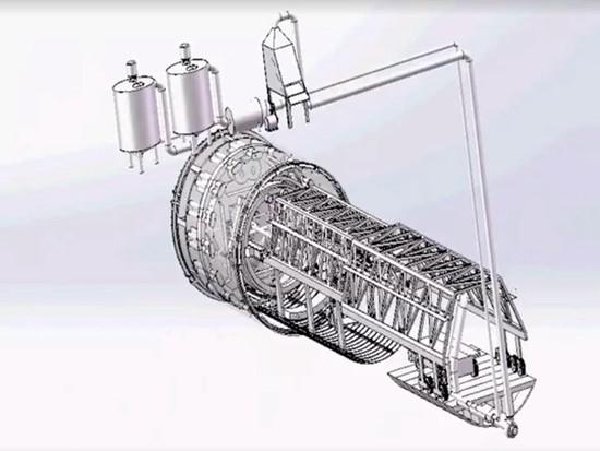 新型泥水式盾構隧道掘進機