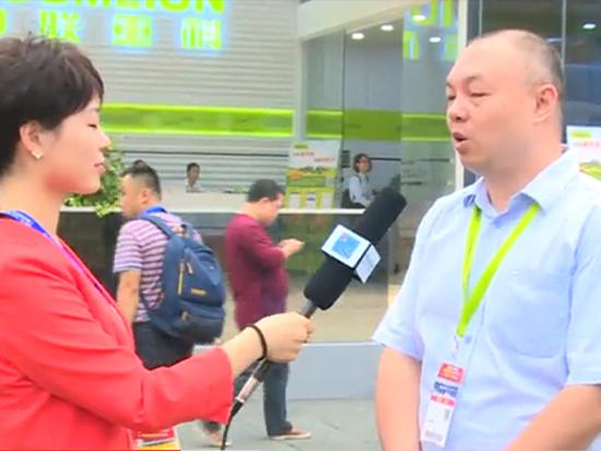 中联重科新商业模式管理公司副总经理史伟志接受中国质量新闻网采访