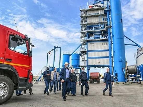 南方路機瀝青攪拌設備獲俄羅斯韃靼斯坦共和國總統贊譽