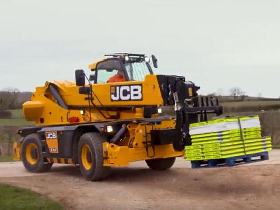 JCB回轉型伸縮臂叉裝車555-210R