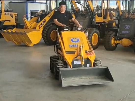 長2米的小型裝載機,適合室內養殖場的鏟車,超級方便!