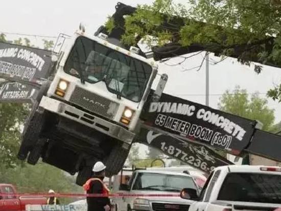 泵车砸中工人头部伤害致死事故,一定要引起重视!