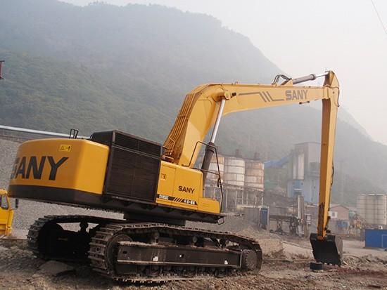 三一设备服务比利时民房建设施工案例
