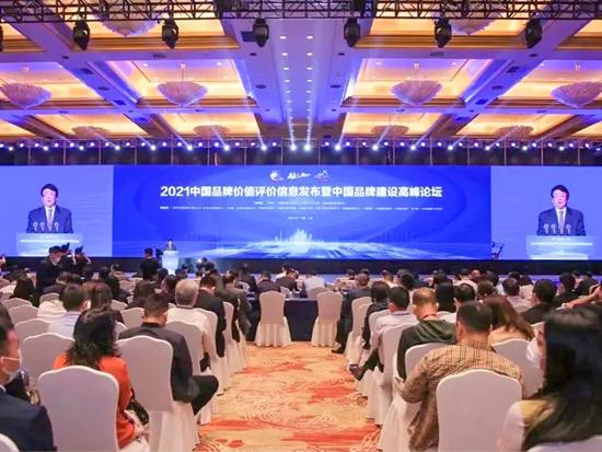 潍柴,合力,诺力上榜,2021中国品牌价值评价榜单!