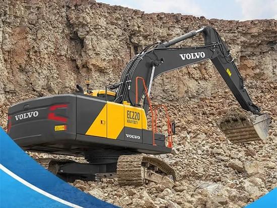 沃尔沃全新至尊EC220HD挖掘机,内外兼修,省油质坚