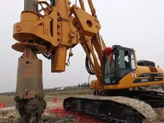 旋挖钻机施工前的准备事项