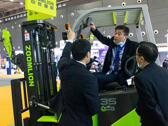 中联重科工业车辆智慧亮相长沙工程机械展
