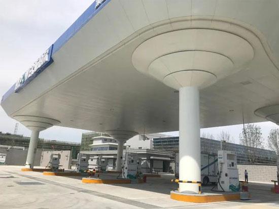 杭叉集團與天津新氫動力合作研發的氫燃料電池叉車首次亮相北京大興氫能國際展示中心