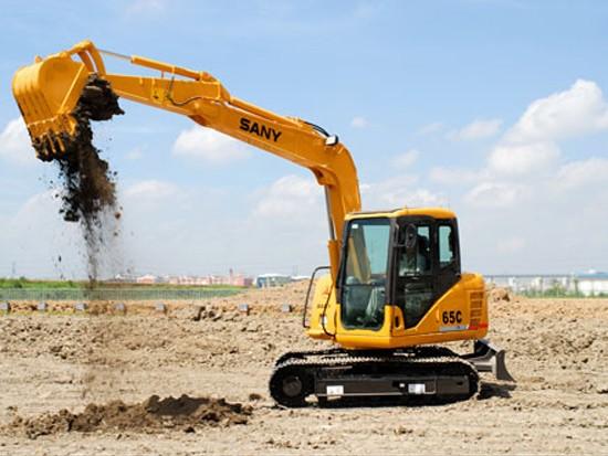 三一挖机参与苏州金鸡湖工程建设施工案例