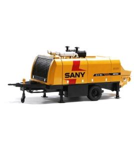 三一1:28原厂合金HBT90C混凝土拖泵 超高压输送泵模型