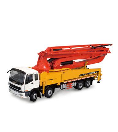 三一1:38原厂合金50米SY5385THB-50混凝土泵车模型(包邮)