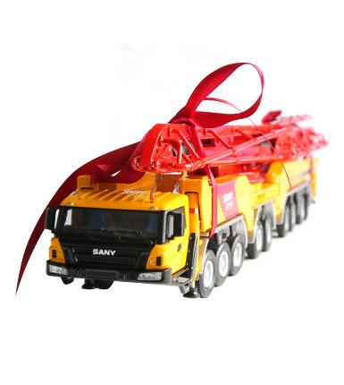 三一1:50原厂合金86米SY51100THB混凝土泵车模型 世界珍藏版 包邮