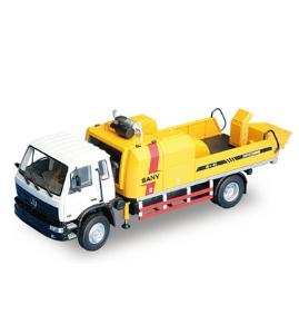 三一1:35原厂合金SY5122THB90混凝土车载泵模型