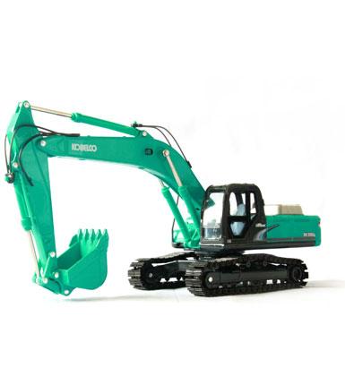 神钢1:43 原厂合金SK350LC-8重型挖掘机模型