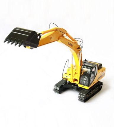 厦工1:35原厂合金 XG836LC挖掘机模型