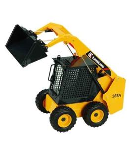 柳工1:20原厂合金CLG 365A滑移装载机模型