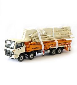 福田雷萨1:38原厂合金9S385CM混凝土泵车模型
