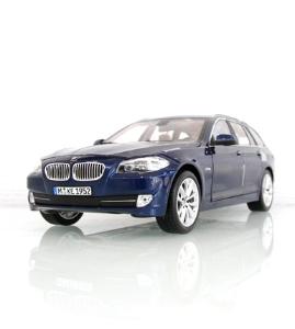 宝马BMW 5系旅行车(F11)深海蓝仿真车模