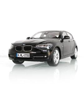 宝马BMW 1系5门板(F20)宝石青仿真车模