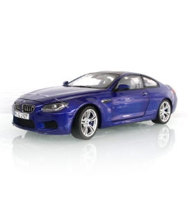 宝马BMW M6双门轿跑车仿真车模 圣马力诺蓝