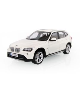 宝马BMW X1(E84)雪山白仿真车模