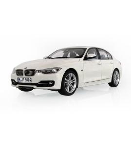 宝马BMW 3系轿车(F30)雪山白仿真车模