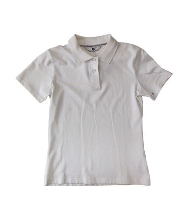 宝马BMW Lifestyle生活精品 COLLECTION系列 女士白色马球衫 葡萄牙原装进口
