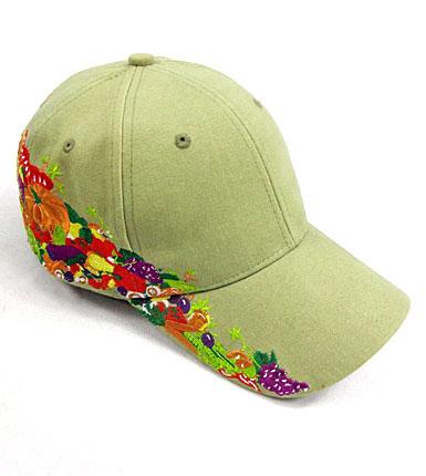 绣花棒球帽